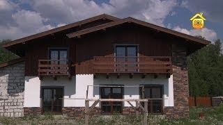 видео Фасад дома в стиле шале