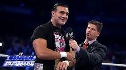 Alberto Del Rio puts Josh Mathews in the Cross Armbreaker: SmackDown, Oct. 18, 2013