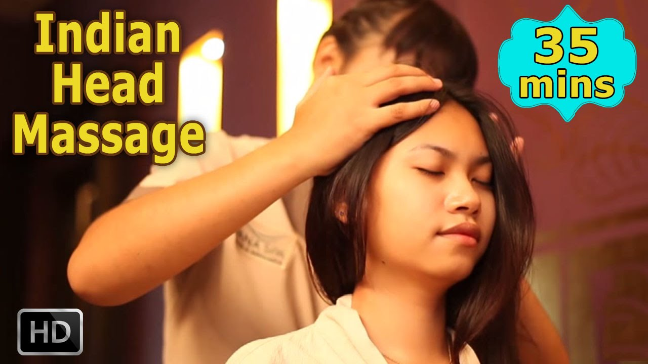 Image result for indian hair massage