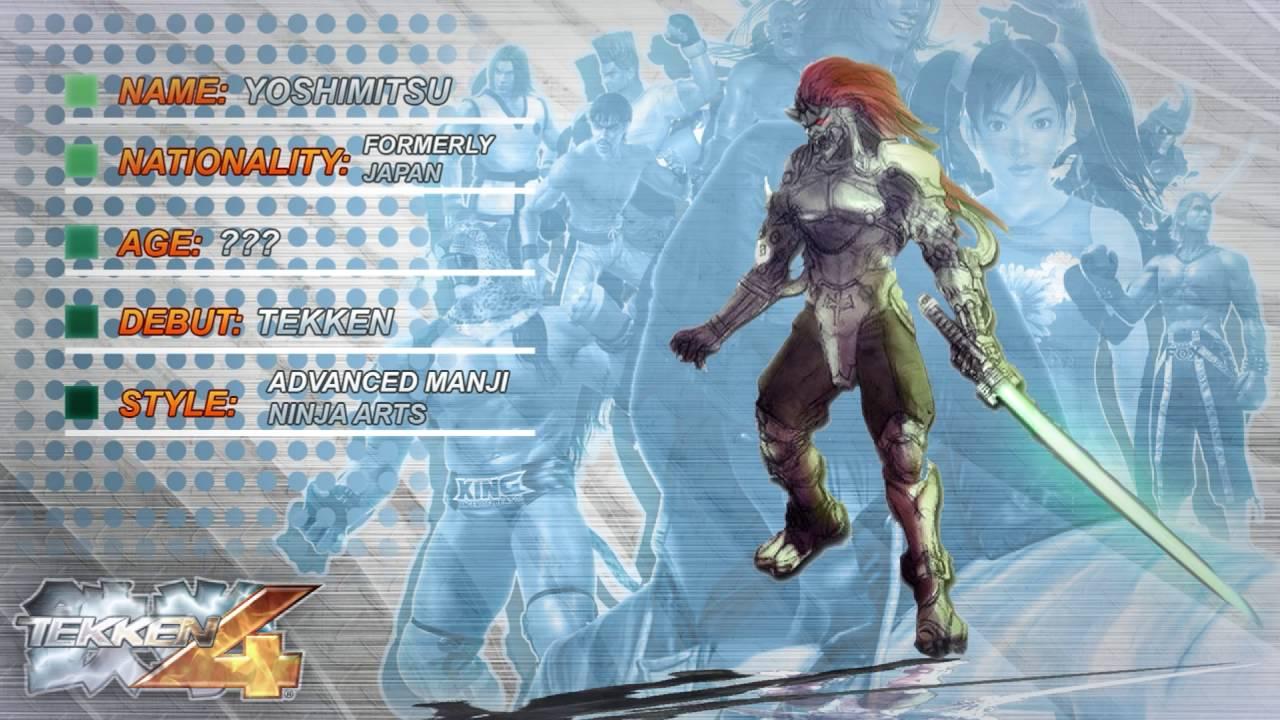 Tekken 4 Yoshimitsu Ending Theme Of Yoshimitsu 1080p60res