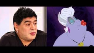 Maradona o Miss Patata ?