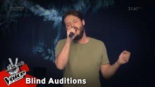 Ευθύμης Κολλητήρης - I Put A Spell On You | 6o Blind Audition | The Voice of Greece
