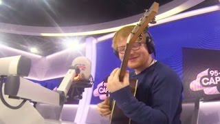 ed sheeran s cover of the fresh prince of bel air theme song is amazing