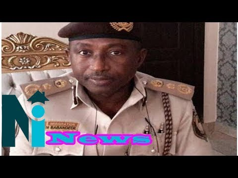 Nigeria Immigration Service promotes 8821 officers and men