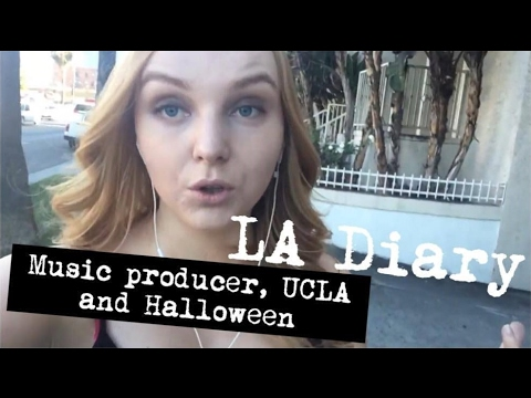 LA Diary 20  - Music Producer, UCLA and Halloween
