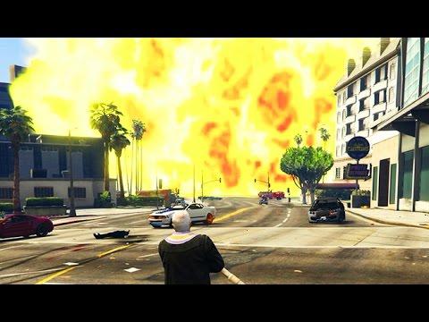 GTA 5 NUKE LAUNCHER MOD!