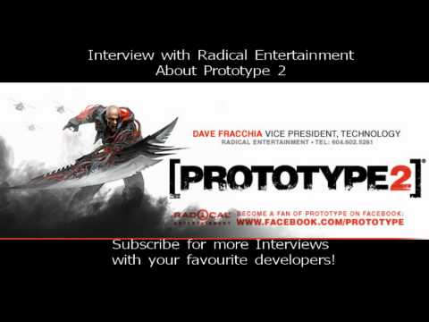 Interview with Radical Entertainment Showcasing Prototype 2!