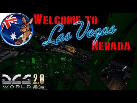 "DCS World: ""Welcome to Las Vegas"" Nevada Test & Training Range."
