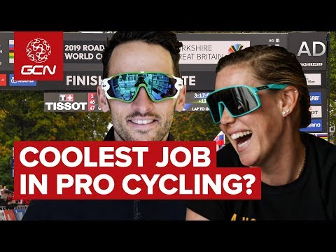 The Coolest Job In Pro Cycling?
