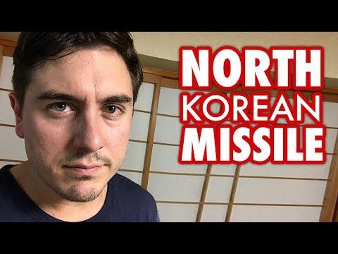 Being Rudely Awoken by a North Korean Missile