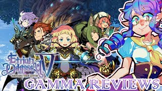 Etrian Odyssey V Beyond the Myth Review (3DS) | Gamma Review