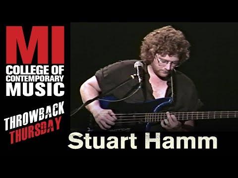 Stuart Hamm Throwback Thursday From the MI Library