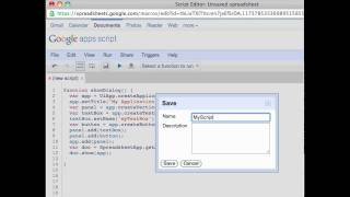 Google Apps Script Tutorial: How to create UI using Apps Script