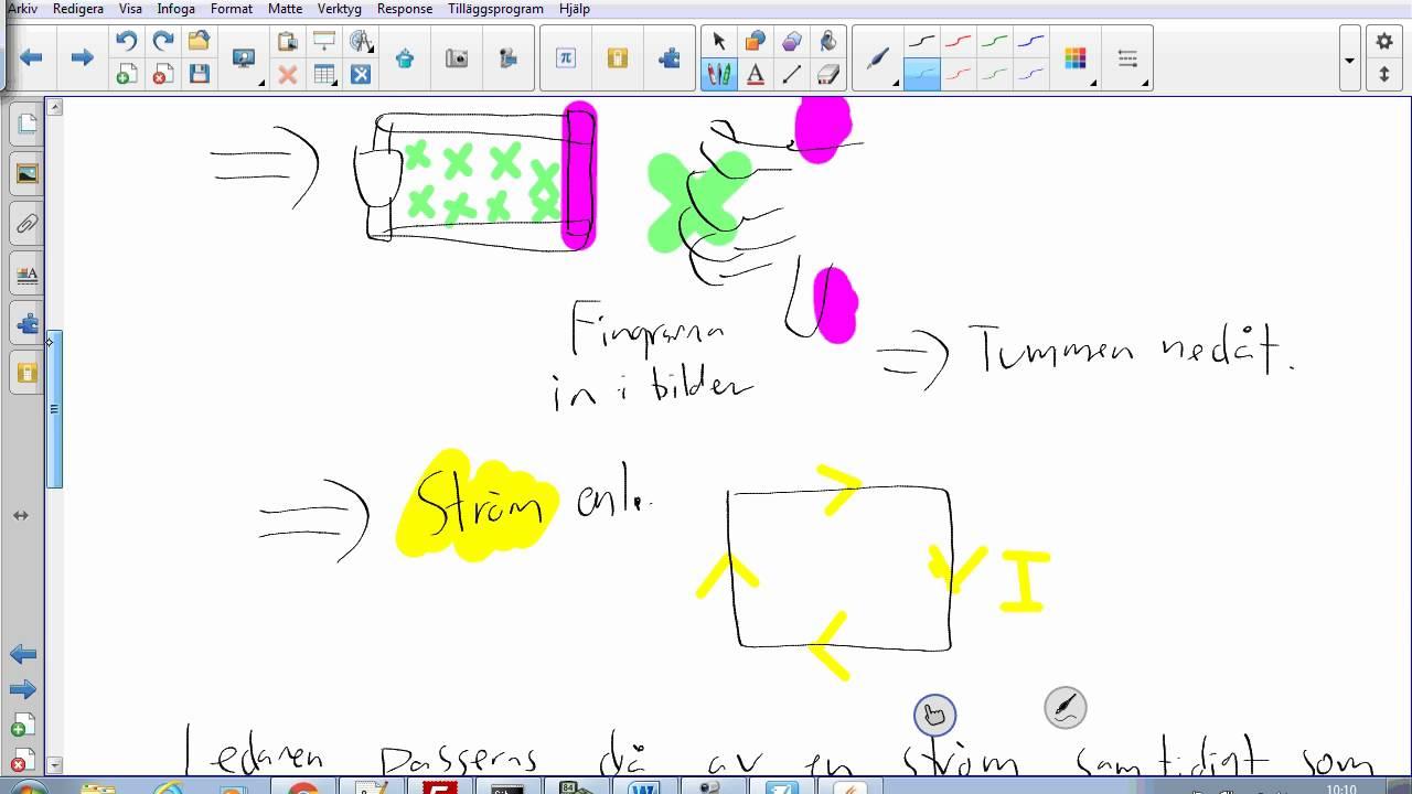 Fysik 2 - Blandade provuppgifter - Uppgift 04 ( Ledarstycke i magnetfält )