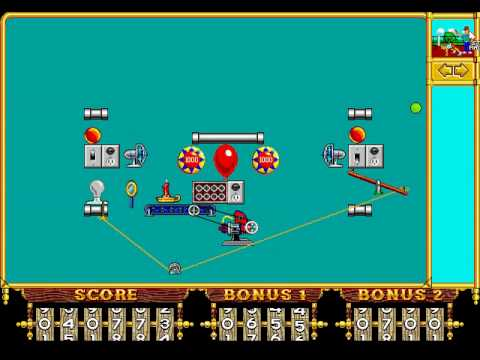 The Even More Incredible Machine Playthrough Part 16 - More Gizmos ...