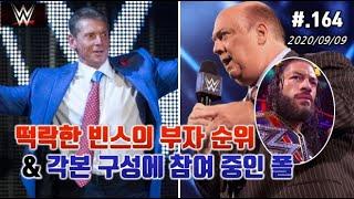 [WWE 뉴스카드 #164] 빈스 맥맨/폴 헤이먼/케빈…