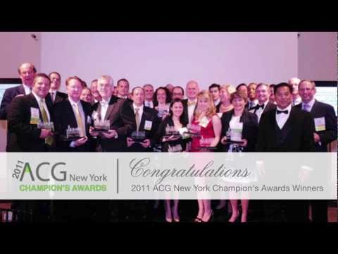 ACG New York Champions Awards 2011