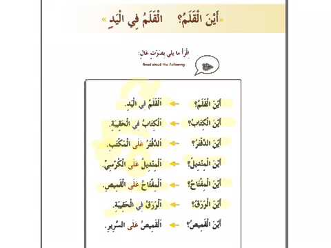 madinah arabic chapter 4a worksheets youtube. Black Bedroom Furniture Sets. Home Design Ideas