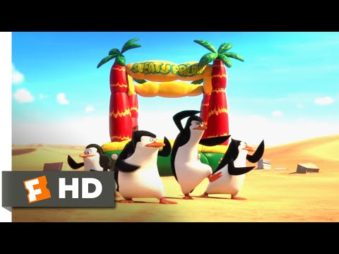 Penguins Of Madagascar (2014) - The Penguins Take Flight Scene (4/10) | Movieclips