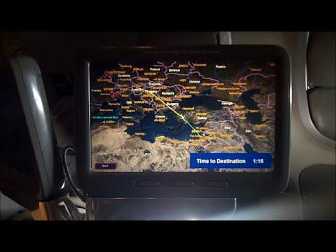 EL AL flight Boeing 777 Amsterdam Tel Aviv