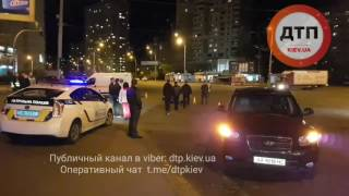 18.04.2017 дтп Киев троещина мото хюндай 2