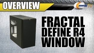 Newegg Tv: Fractal Design Define R4 Silent Mid Tower Case Overview