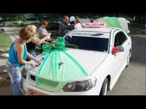 Украшение свадебных автомобилей машин на свадьбу avtovipua