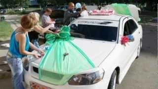 Ольга Алексей свадебные машины
