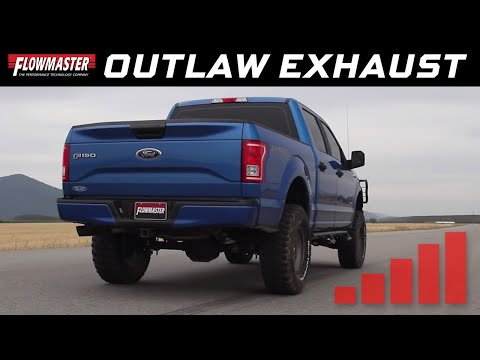 2015-19 Ford F150 2.7L Ecoboost - Outlaw Cat-back Exhaust System 817726