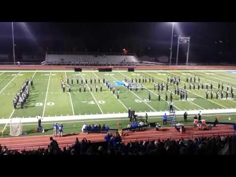 JCHS MARCHING band halftime Oct 16 15