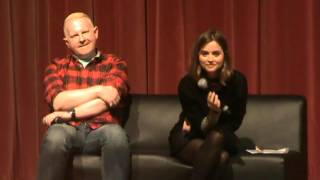 Jenna Coleman panel at Armageddon Auckland