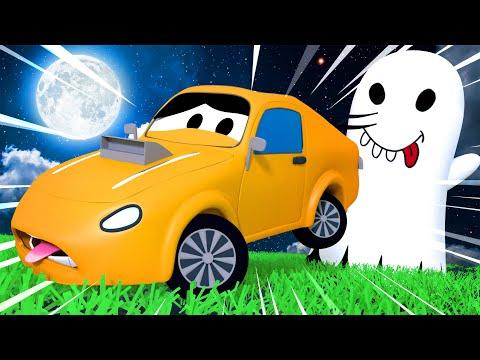 Малярная Мастерская Тома - Эдгар привидение - Автомобильный Город 🎨 детский мультфильм