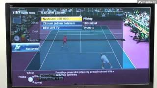 Jak snadno nahrávat z TV aneb televizor jako HDD rekordér