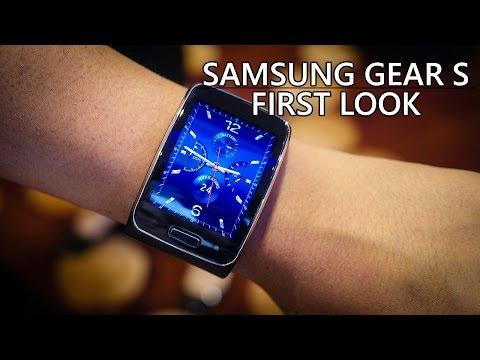 Samsung Gear S First Look!