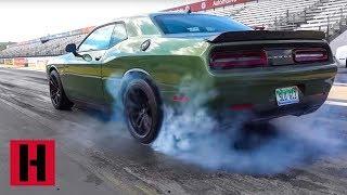 Vin Test Drives Dodge Drag Cars!