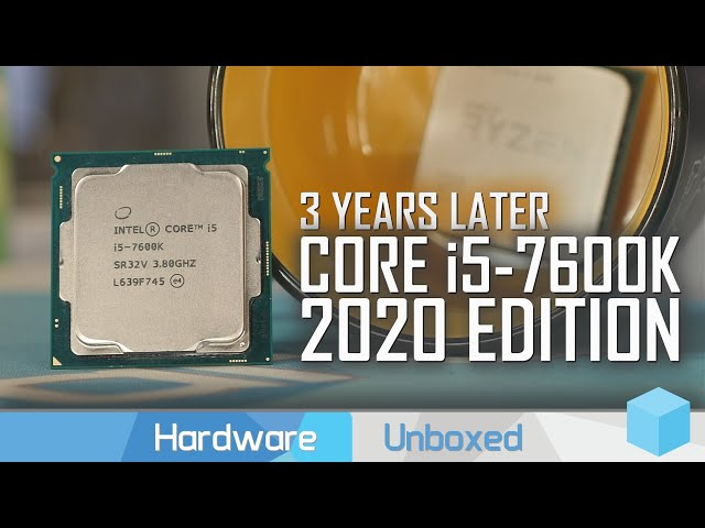 Core i5-7600K vs. Ryzen 5 1600, 2020 Revisit