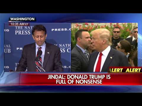 "Bobby Jindal slams Donald Trump as ""narcissist, egomaniac."""
