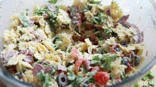 Blt Caesar Pasta Salad Recipe ... Way To Easy, Yet So Good!
