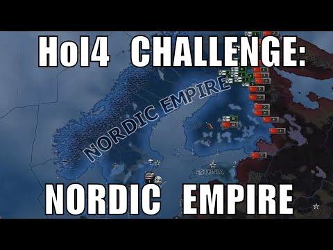 Hearts Of Iron 4 Challenge: Nordic Empire