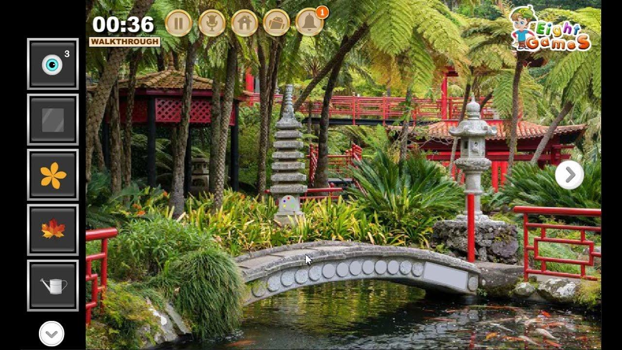 escape from tropical garden walkthrough eightgames. - youtube