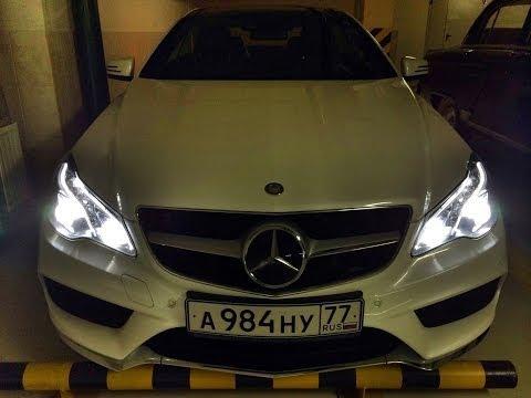 Mercedes E400 Coupe - тест-драйв + 0-250 км/ч + мощностной стенд!)