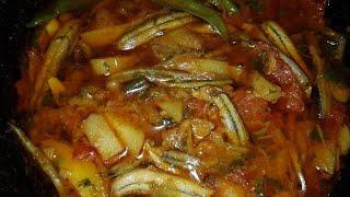 গুতুম মাছের চড়চড়ি - Gutum Macher Chotchoti Recipe | Bangla Ranna - Banna | Nasima Baby
