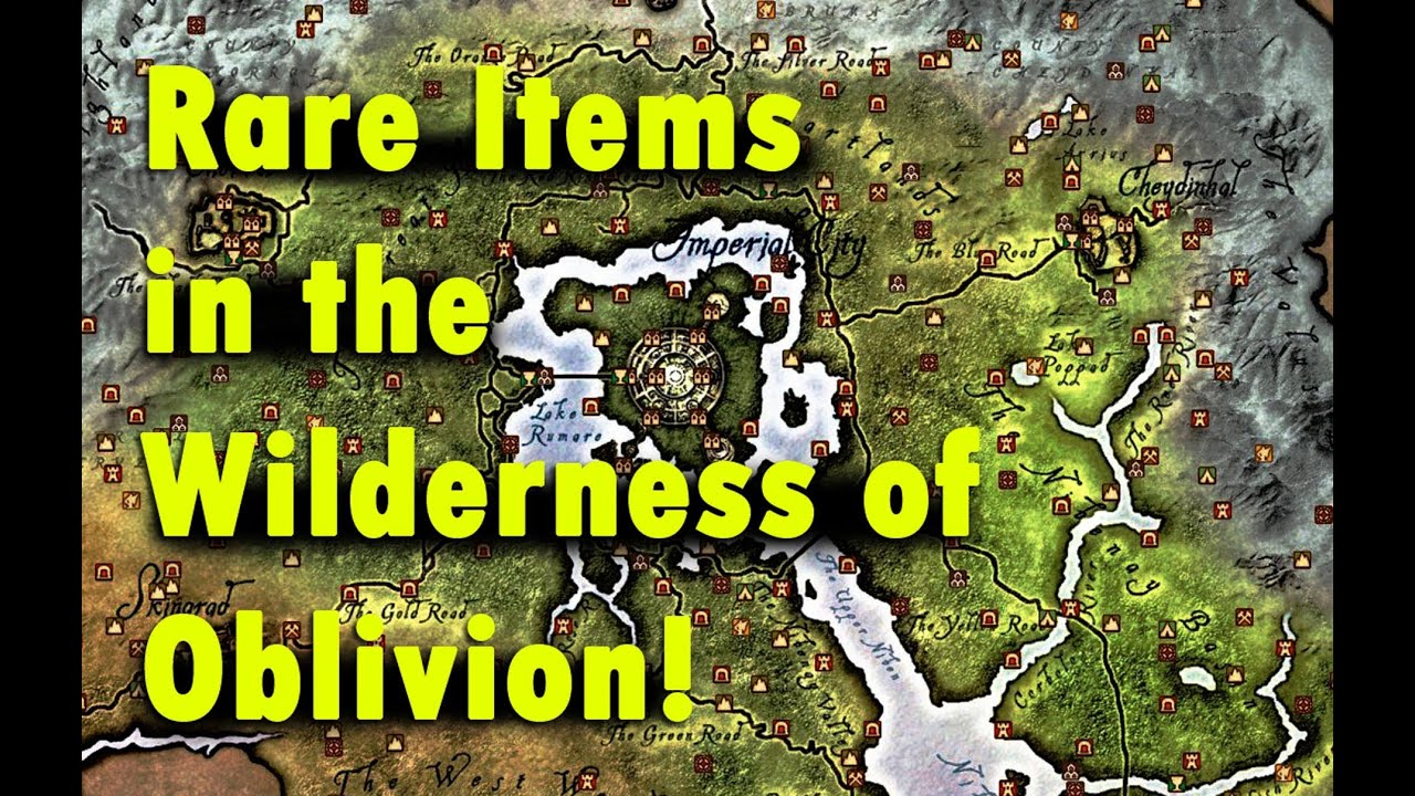 Oblivion all rare unique wilderness found enchanted items youtube gumiabroncs Choice Image