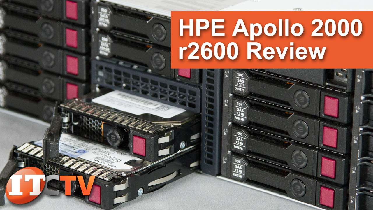 HPE Apollo r2600 Gen9 Chassis | IT Creations