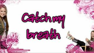 Wherever I Go by Miley Cyrus Feat. Emily Osment (W/ Lyrics)