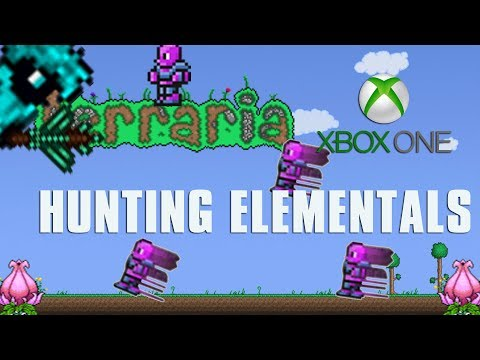 Terraria Xbox One Let's Play - Hunting Elementals [133]
