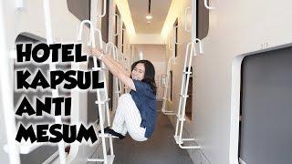 Hotel Kapsul TERMEWAH di JAKARTA - Vlogritte