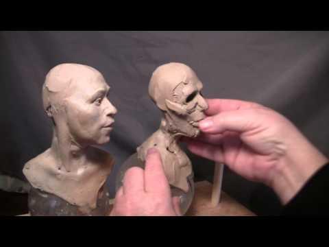 Sculptor David Lemon - Commission - Re-doing the I...
