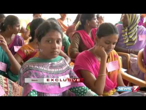 10,000 gets appointment order in job fair at Salem | Tamil Nadu | News7 Tamil |