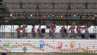 山口七夕ちょうちん祭り2017 舞龍人(新亀山公園会場)